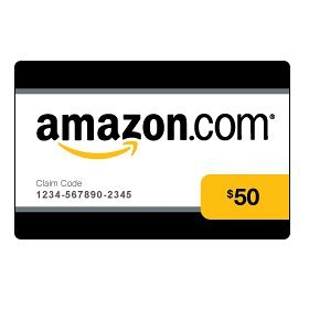 $50 Amazon Gift Card Example