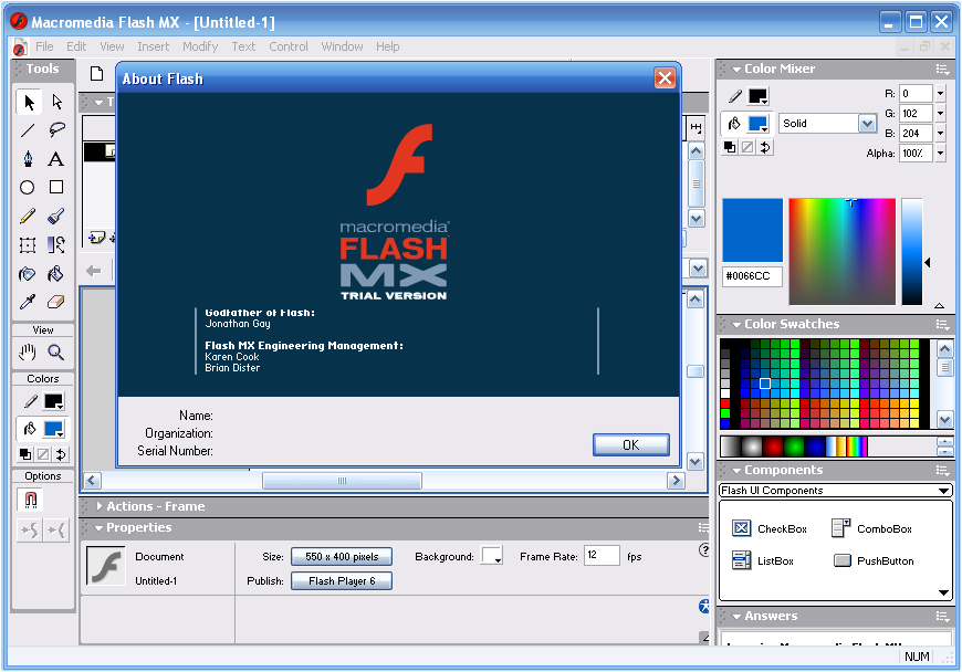 Macromedia flash player 8 icon adobe family icons softicons. Com.