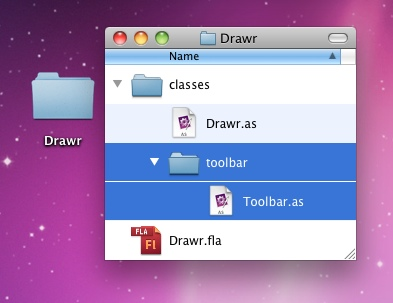 The toolbar package and Toolbar class